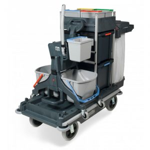 Numatic SCG1806MMT1616G Janitorial Trolley c w Vertical Press