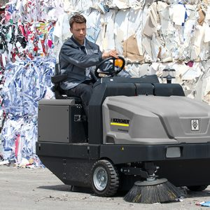 Industrial Ride-on Sweepers