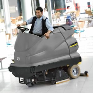 Ride-On Auto Scrubber Driers