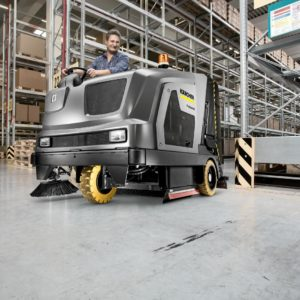 Ride-on Scrubber Sweepers